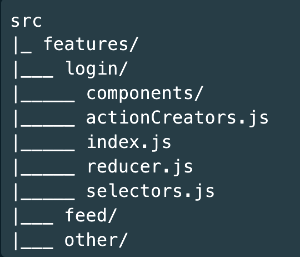 """""""By Feature"""" Approach, Scaffolding React Native"""